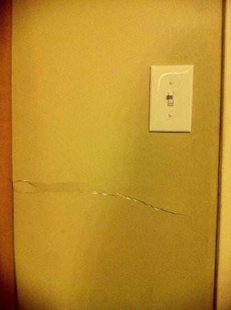 Northwoods Inn & Suites : Holes or dents in almost every wall