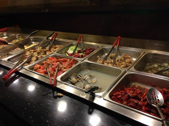 Awesome Seafood Steam Table Picture Of Super Buffet Seattle Interior Design Ideas Oteneahmetsinanyavuzinfo