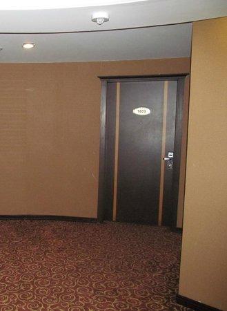 Aryana Hotel: Коридор 16 этажа