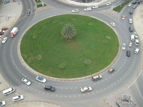 Aryana Hotel: Вид из окна номера