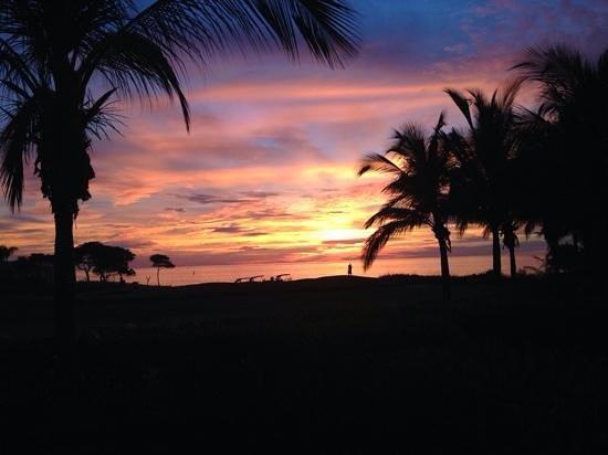 The St. Regis Punta Mita Resort: atardecer en St. Regis