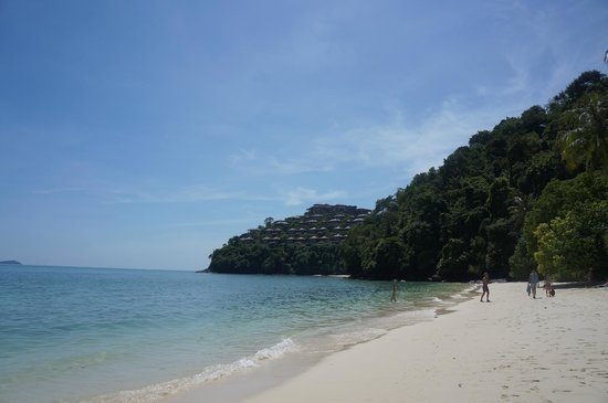 Private beach @ Cape Panwa Hotel