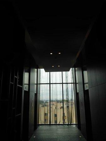 The Westin Guadalajara: Vista del hotel hacia el elevador