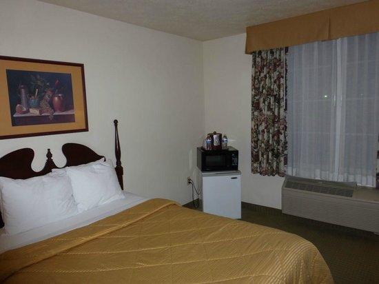 Comfort Inn & Suites: The room from the doorway
