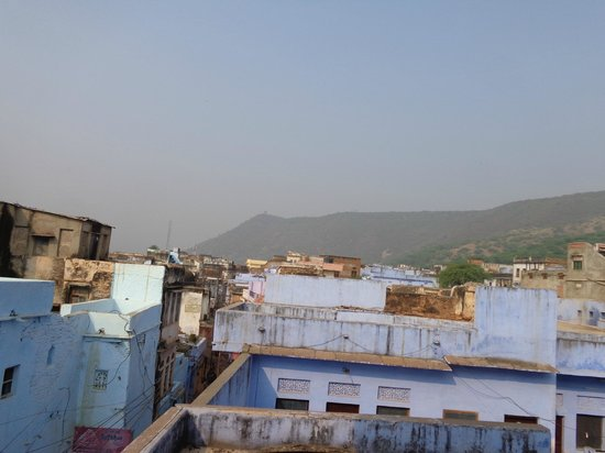 Shivam Tourist Guest House : View from the roof-top restaurant
