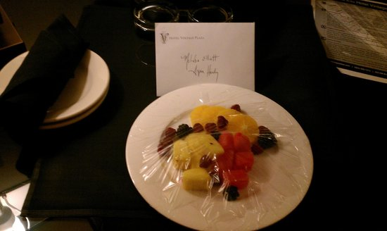 Kimpton Hotel Vintage Portland : The staff goes out of their way to make us feel welcomed and special.