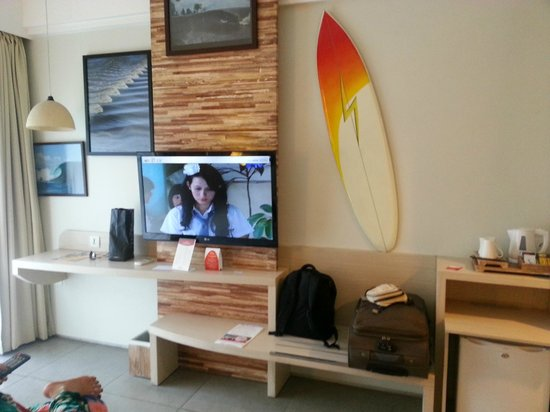 Bliss Surfer Hotel: TV