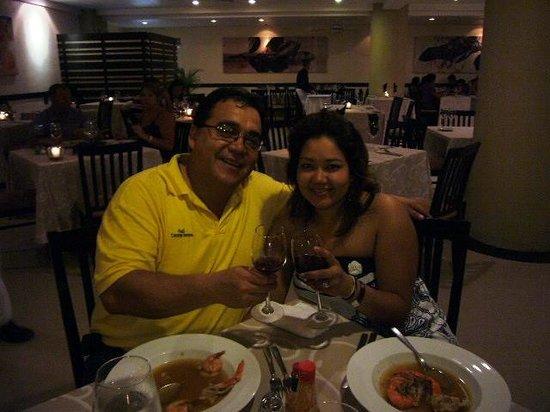 Marival Resort & Suites: la mas deliciosa cena