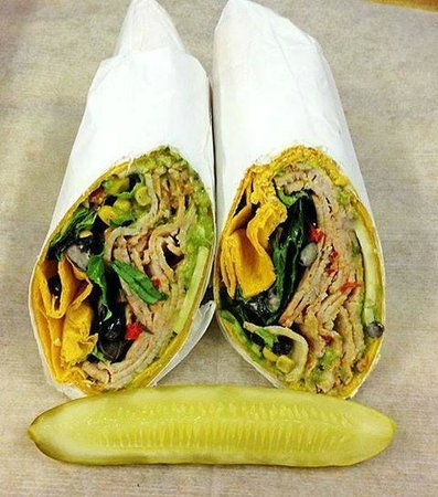 The Wooden Spoon at Bert's: Southwest Wrap