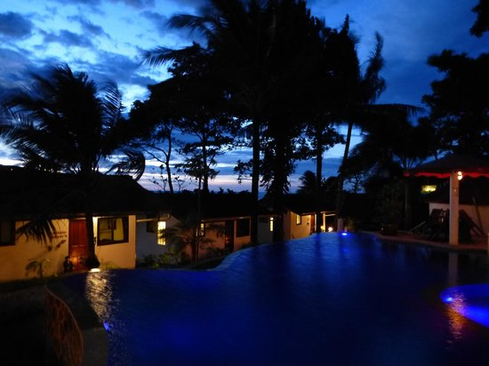 Top Resort: Pool at night