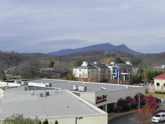 Music Road Resort Hotel: View from balcony
