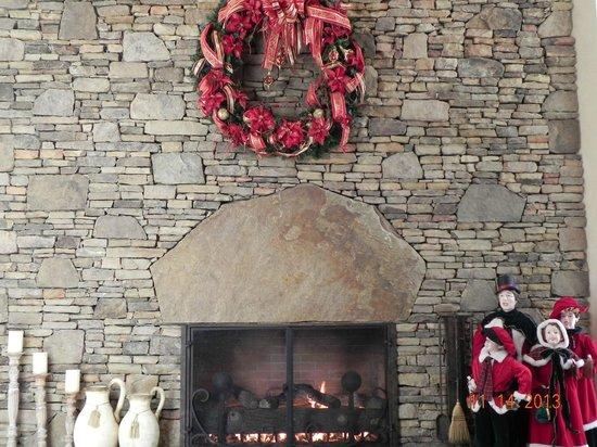 Music Road Resort Hotel: Christmas decor