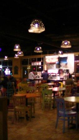 Cafe Rio : interior