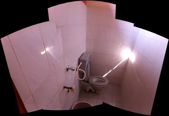 Raju Guest House: bath room