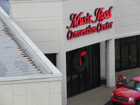 Music Road Resort Hotel: Next door convention center