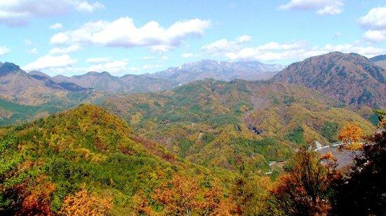 Shosen Gorge Ropeway: 南アルプス