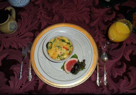 The Historic Inn on Ramsey Street: Breakfast