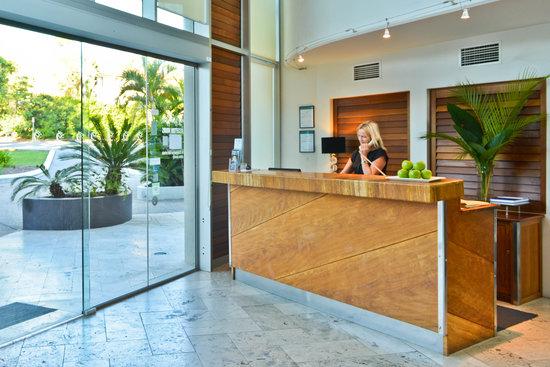 Noosa Blue Resort : Noosa Blue's Reception Area