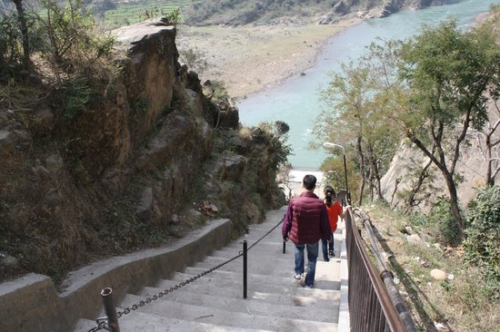 Pathankot, Hindistan: There are lots of Stairs to climb