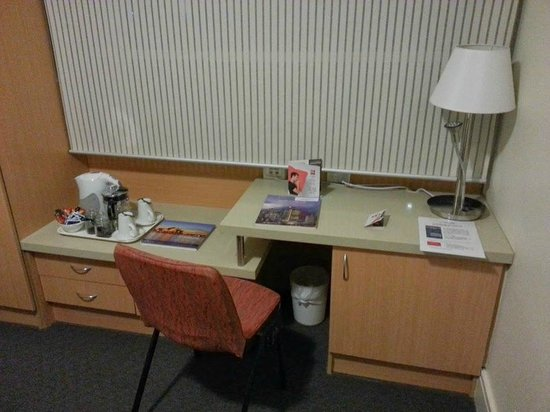 office and mini bar fridge picture of ibis sydney world