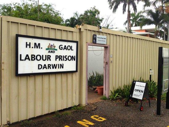 Fannie Bay Gaol: Front Gate