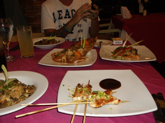 Grand Oasis Cancun: chinese food