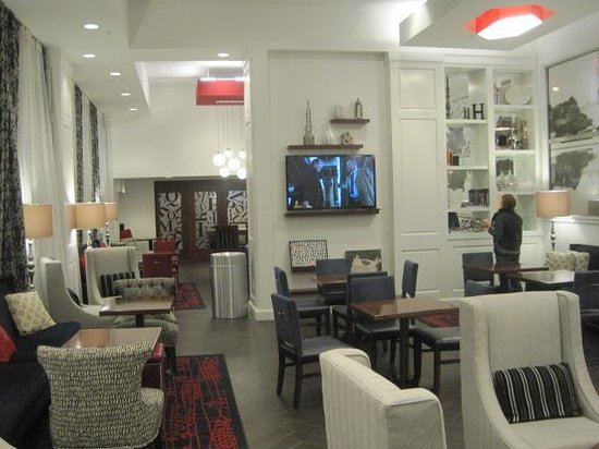 Hampton Inn Washington, D.C./White House : lobby sitting area