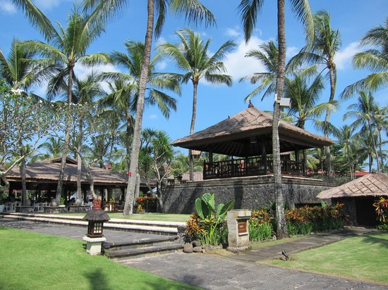 INTERCONTINENTAL Bali Resort: Part of the hotel grounds