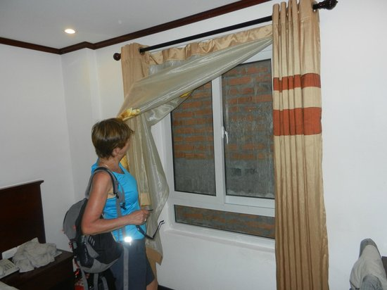 Room To Room Ventilation Fans : Room with bricked up window no ventilation picture of