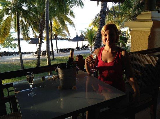 Paradis Beachcomber Golf Resort & Spa : ENJOYING OUR HOLIDAYS IN LE PARADIS HOTEL & GOLF CLUB, OCTOBER 2013.