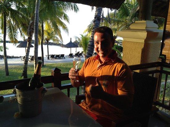 Beachcomber Paradis Hotel & Golf Club: ENJOYING OUR HOLIDAYS IN LE PARADIS HOTEL & GOLF CLUB, OCTOBER 2013.