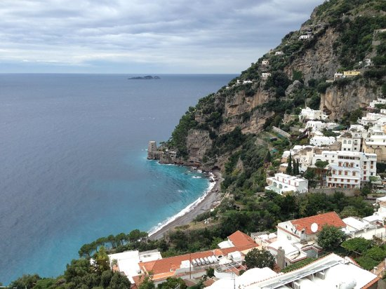 Hotel Villa Franca : View from balcony over Positano