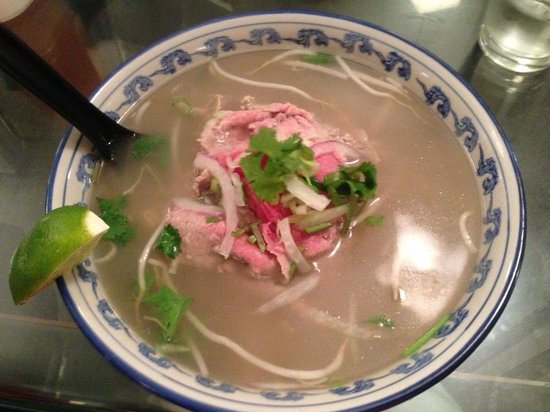 Saigon Noodle House: Terrible bowl of pho. The broth should not be so murky!