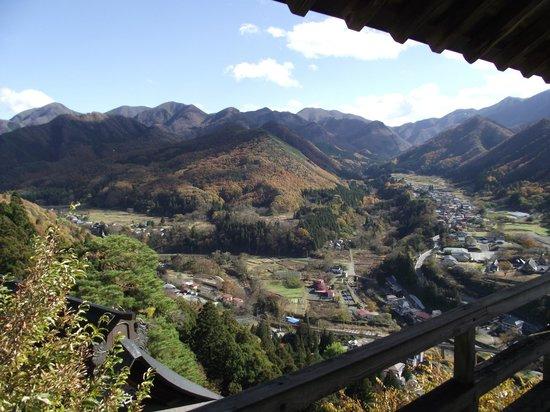 Risshaku-ji Temple: Blick ins Tal