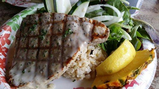 Grass Skirt Grill: Le poisson parfaitement cuit