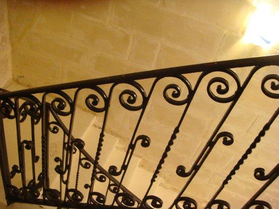 Villa Del Porto: лестница