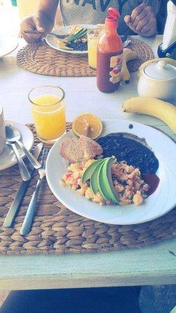 Hotel CalaLuna Tulum: Amazing breakfast included!