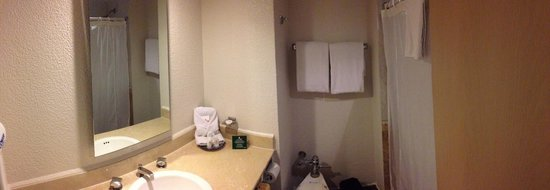 Hotel PF : Baño