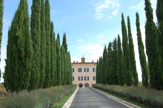 Relais Villa Grazianella - Fattoria del Cerro: approach to the villa