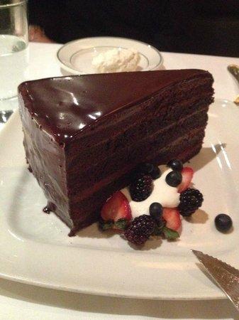 Smith & Wollensky : Chocolate Cake