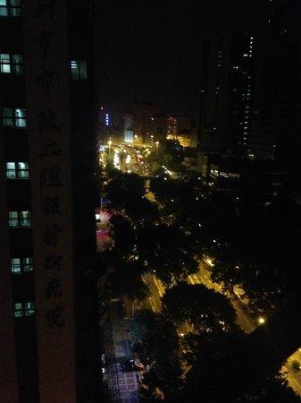 Home Club Hotel Guangzhou Shimao : вид из окна 14 этаж