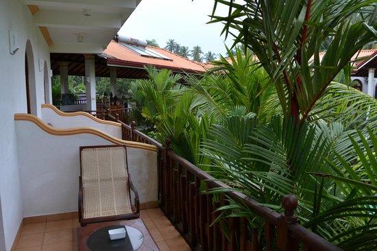 Hotel Bentota Village: Blick vom Balkon