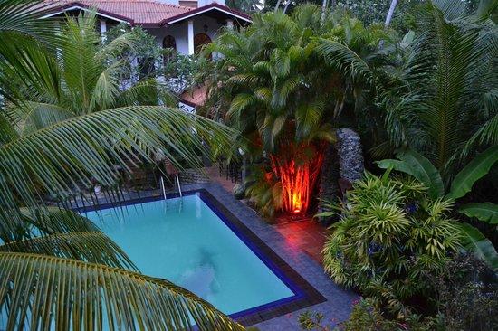 Hotel Bentota Village: Blick von der Terasse