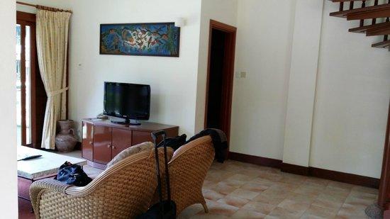 Nirwana Gardens - Banyu Biru Villas: Living room
