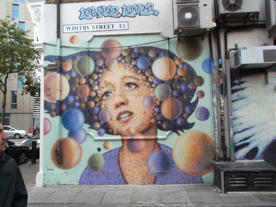 Bowl Of Chalk: Street Art