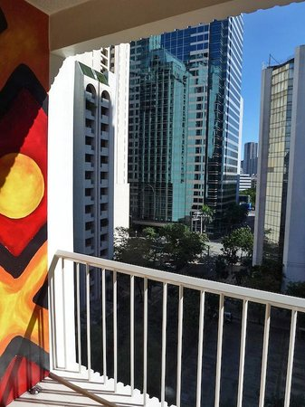 The Picasso Boutique Serviced Residences: View from 26th Flr Balcony