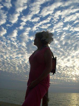 Moonwalk Lanta Resort : небо на закате