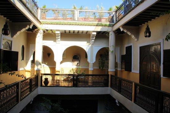 Riad Harmattan : Patio interno