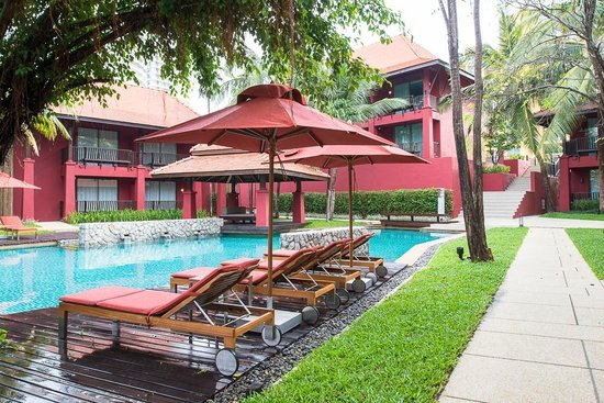 Escape Hua Hin Hotel: Ground