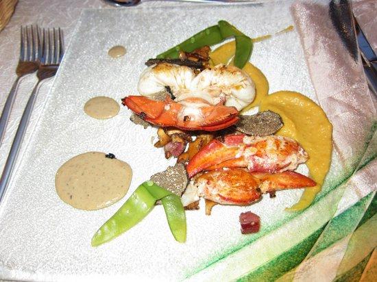 Au Pois Gourmand : Un plat très goûteux .....